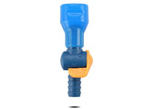 Blue Bite Valve with Shut Off