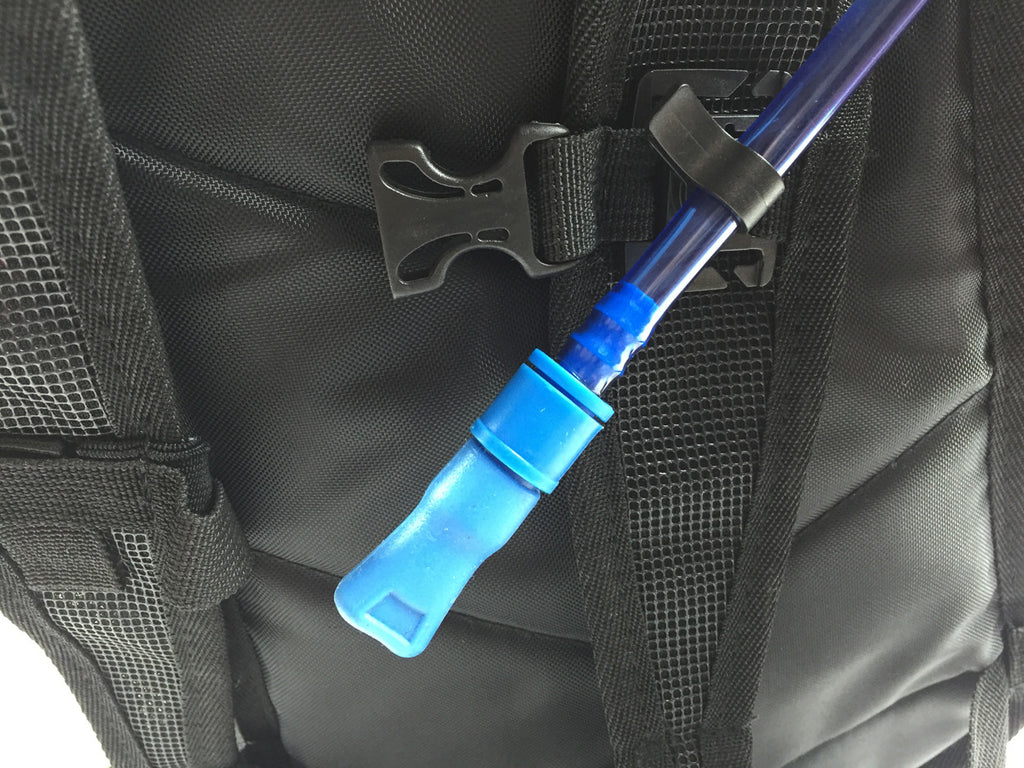 Black Drink Tube Clip - HydrationTubeCovers.com