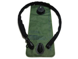 Black Cordura Hydration Pack Drink Tube Cover - HydrationTubeCovers.com