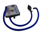 Blue Geigerrig® Hydration Pack Pressurized Engine drink tube covers.
