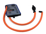 Fluorescent Orange Geigerrig® Hydration Pack Pressurized Engine drink tube covers.