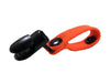 Fluorescent Orange Hydration Pack Drink Tube Lanyard Clip