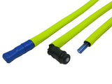 Fluorescent Yellow Insulated Neoprene Drink Tube Hose Cover - HydrationTubeCovers.com