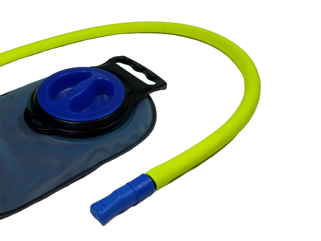 Fluorescent Yellow Insulated Neoprene Drink Tube Hose Cover