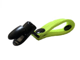 Fluorescent Yellow Hydration Pack Drink Tube Lanyard Clip