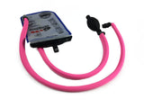 Hot Pink Geigerrig® Hydration Pack Pressurized Engine drink tube covers.