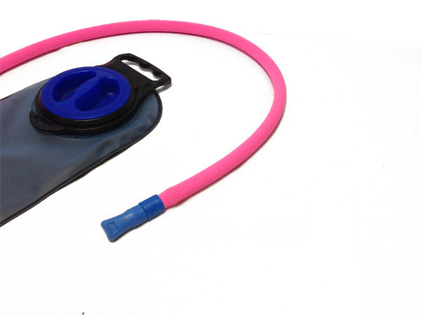 Hot Pink Insulated Neoprene Drink Tube Hose Cover - HydrationTubeCovers.com