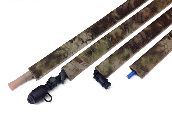 Kryptek Highlander Cordura Hydration Pack Drink Tube Cover - HydrationTubeCovers.com