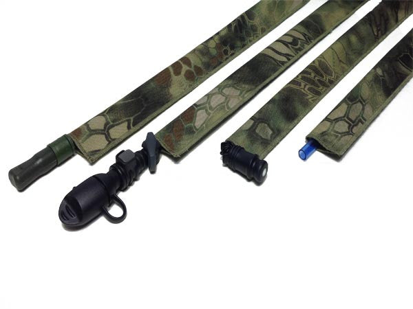 Kryptek Mandrake Cordura Hydration Pack Drink Tube Cover - HydrationTubeCovers.com