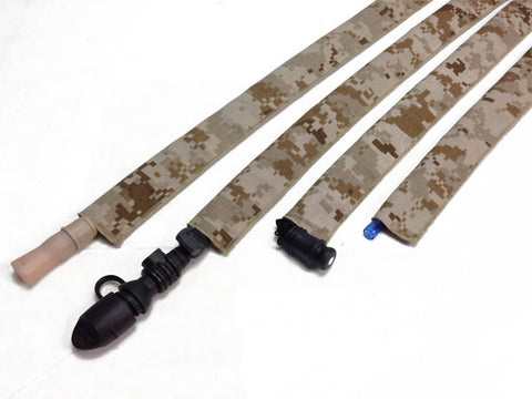 ABU Air Force Tiger Stripe Cordura Hydration Pack Drink Tube Cover