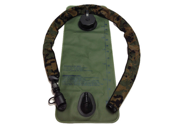 MARPAT Woodland Digital Cordura Hydration Pack Drink Tube Cover - HydrationTubeCovers.com