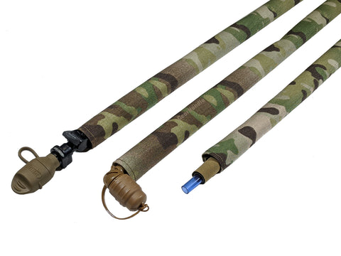 MARPAT Woodland Digital Cordura Hydration Pack Drink Tube Cover