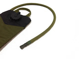 OD Green Hydration backpack with a neoprene insulated cover assembled on the drink tube. #HydrationTubeCovers #Hydrate