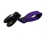 Purple Hydration Pack Drink Tube Lanyard Clip