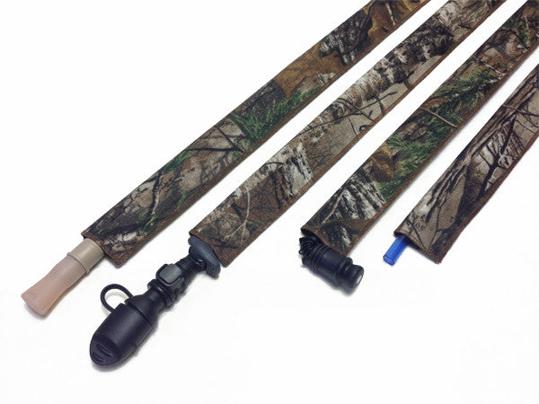 Realtree Xtra Cordura Hydration Pack Drink Tube Cover - HydrationTubeCovers.com