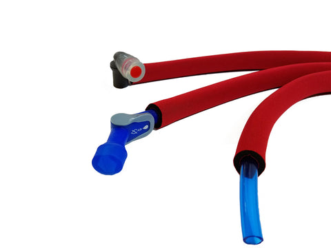 Blue Insulated Drink Tube Hose Cover
