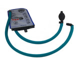 Teal Geigerrig® Hydration Pack Pressurized Engine drink tube covers.