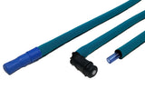 Teal Insulated Neoprene Drink Tube Hose Cover - HydrationTubeCovers.com