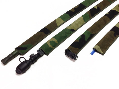 Ranger Green Cordura Hydration Pack Drink Tube Cover