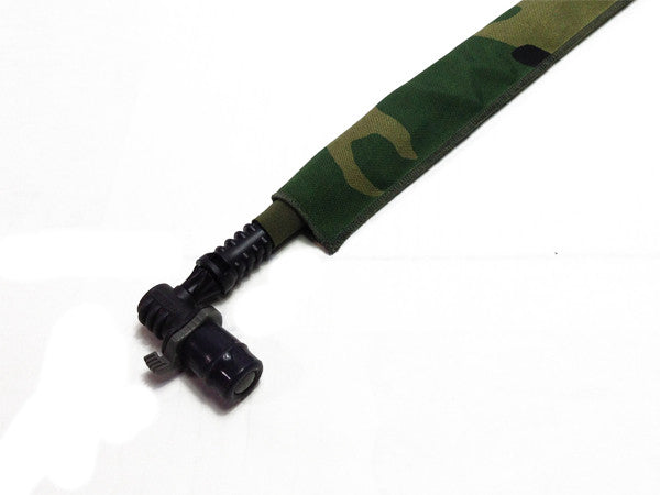 Woodland Cordura Hydration Pack Drink Tube Cover - HydrationTubeCovers.com