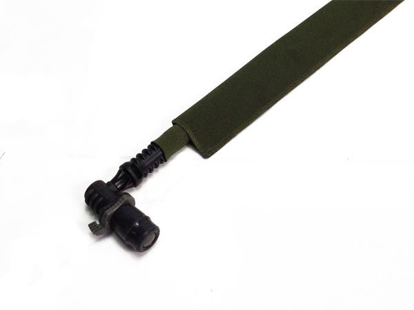 OD Green Cordura Hydration Pack Drink Tube Cover - HydrationTubeCovers.com