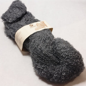 Mohair Boucle by Canard 1035 Charcoal