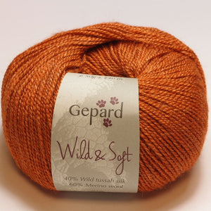 Wild & Soft, Gepard Garn 240 Copper