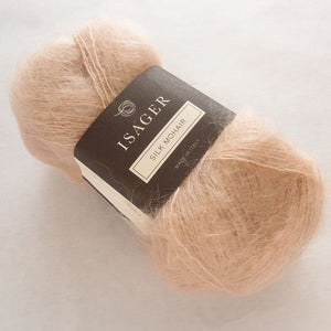 Silk Mohair Isager, 006 Light beige