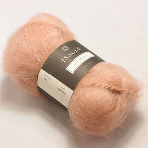 Silk Mohair Isager, 062 Old Rose