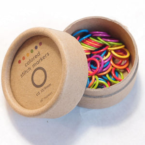 Cocoknits Large colored Stitch Markers, maks .9 mm puikoille