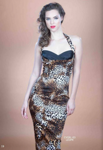 Stop Staring Dress, COVERGIRL Leopard Print Dress, CVGRL-03 LEOPR , FALL WINTER 2019