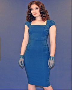 Stop Staring, CELEBRITY PEACOCK BLUE Dress, CLBRTY-03 PEAK, SPRING SUMMER 2019