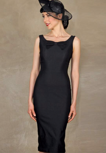 Stop Staring, LITTLE BLACK DRESS, Fitted Dress,  LITBD-03 BLACK