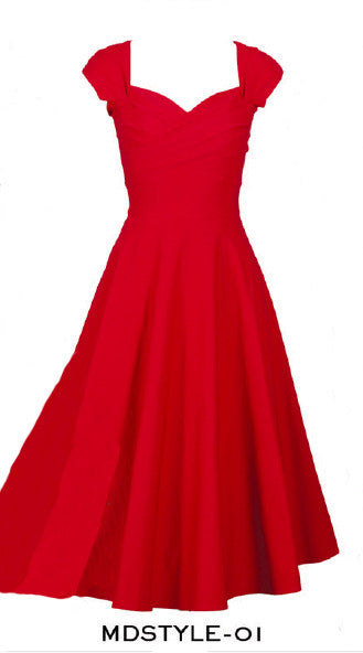 Stop Staring, MAD STYLE, RED Dress, MDSTYLE-01 RED, FALL WINTER 2019
