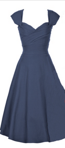 Stop Staring, MAD STYLE, NAVY Swing Dress, MDSTYLE-01 NAVY, SPRING SUMMER 2019