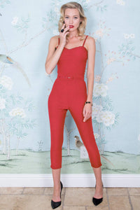 Stop Staring, RILEY JUMPER, RED ROMPER, RILEY-13 RED, SPRING SUMMER 2019