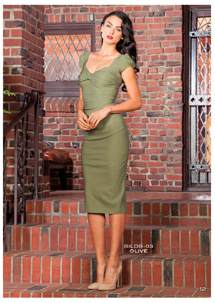 Stop Staring, OLIVE BILLION DOLLAR BABY Dress, CLASSIC, BILDB-03 OLIVE