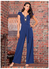 Stop Staring, BARCELONA Jumpsuit, BRCLNA-13 Red