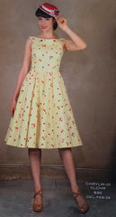 Stop Staring, CHERRY LEMON, Swing Dress, Spring Summer 2015 CHRYLM-01 YLCHR
