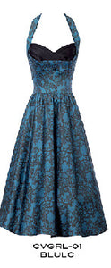 Stop Staring,  COVERGIRL dress,  Blue Lace Swing Dress,  CVRGL-01 BLULC, Fall Winter 2014