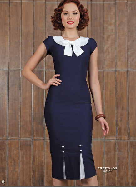 Stop Staring , FIRSTCLASS NAVY Dress,  FRSTCL-03 NAVY, Spring Summer 2013