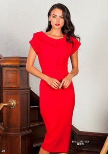 Stop Staring, NELLIE Dress, NELLIE-03 RED