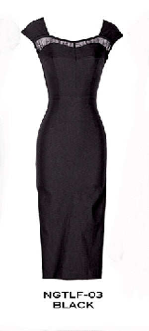 Stop Staring, NIGHTLIFE WIGGLE Dress, NGTLF -03 BLACK, Fall Winter 2014