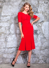 Stop Staring, Red ROUGE Dress, ROUGE-03 RED