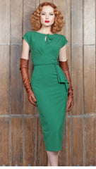 Stop Staring, TIMELESS GREEN Dress, Fall Winter 2017, TIMLS-03 GREEN
