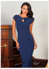 Stop Staring, TIMELESS NAVY  Dress, Fall Winter 2017, CLASSIC, TIMLS-03 NAVY