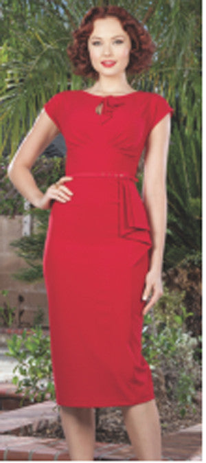 Stop Staring TIMELESS RED Dress - CLASSIC TIMLS-03 RED
