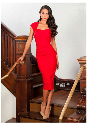 PRE ORDER New Stop Staring UMA Dress -UMFD-03 RED
