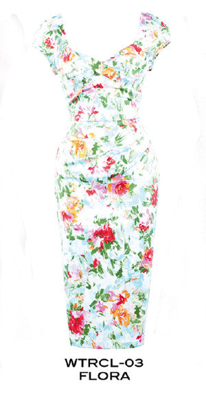 Stop Staring, WATERCOLOR, Floral Dress,  Spring Summer 2015
