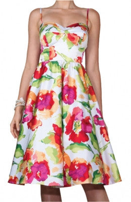 Stop Staring, SUNSHINE Dress, Floral Dress, Swing Dress, SUNSHN01 WTRCL